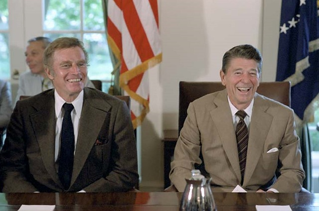 Los secretos durante la candidatura de Ronald Reagan
